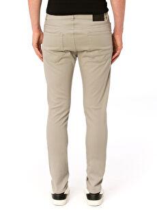 Erkek Gabardin Slim Pantolon