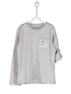Sırtı Baskılı Tişört