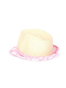 Kız Çocuk Hasır Şapka