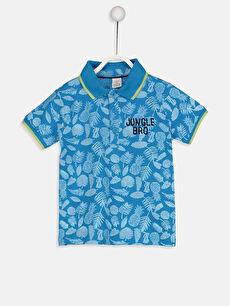 Erkek Bebek Polo Yaka Tişört