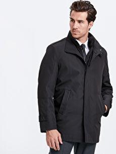 Ceket Yaka Kalın Kaban