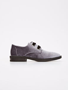 Süet Görünümlü Oxford Ayakkabı