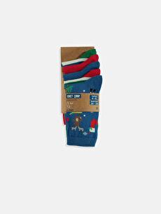 Erkek Çocuk Soket Çorap 5'li