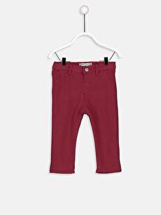 Erkek Bebek Pamuklu Pantolon