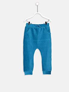 Erkek Bebek Kadife Pantolon