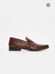 Erkek Deri Loafer Ayakkabı