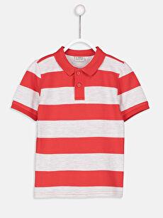 Erkek Çocuk Çizgili Basic Tişört