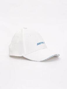 Erkek Çocuk Yazı Baskılı Şapka