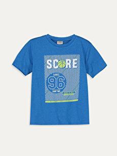 Erkek Çocuk Baskılı Kısa Kollu Tişört