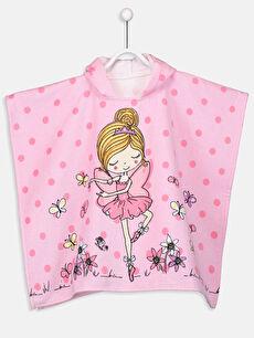 Kız Çocuk Desenli Havlu