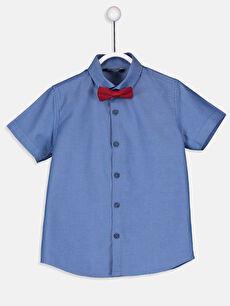 Erkek Çocuk Oxford Gömlek ve Papyon