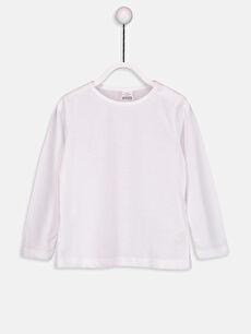 Kız Bebek Basic Pamuklu Tişört