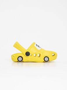 Erkek Bebek Desenli Sandalet