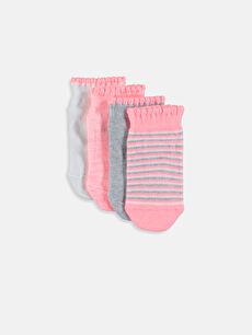 Kız Bebek Patik Çorap 4'lü
