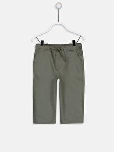 Erkek Bebek İnce Gabardin Pantolon