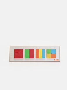Eğitici Oyuncak Blok Puzzle