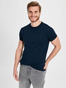 Slim Fit Basic Kısa Kollu Tişört