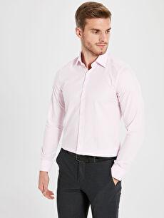 Slim Fit Uzun Kollu Gömlek