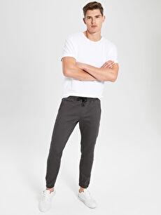 Slim Fit Jogger Gabardin Pantolon