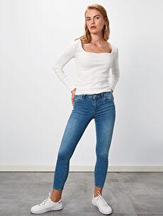 Bilek Boy Skinny Jean Pantolon