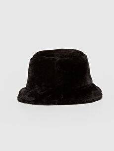 Pelüş Bucket Şapka