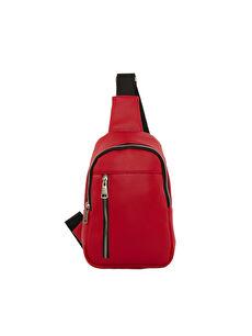 Bagmori Kırmızı Kadın Çapraz Çanta