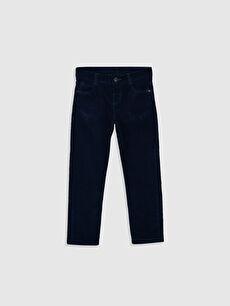 Erkek Çocuk Slim Fit Kadife Pantolon