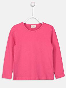 Kız Çocuk Pamuklu Basic Tişört