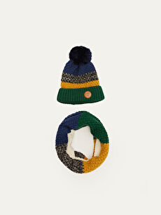 Boy's Tricot Snood and Beret