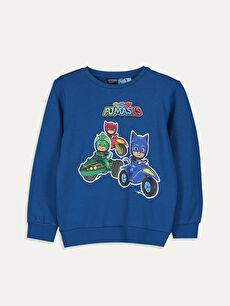 Erkek Çocuk Pijamaskeliler Pamuklu Tişört