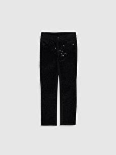 Girl's Gabardine Trousers