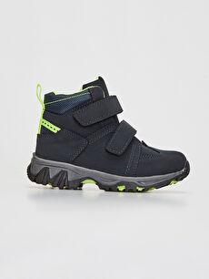 Navy Trekking Boots