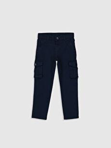 Erkek Çocuk Slim Kargo Pantolon