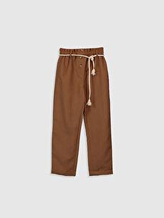 Kız Çocuk Kadife Pantolon