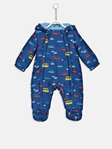 Erkek Bebek Kalın Astronot Mont
