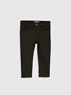 Erkek Bebek Slim Fıt Kalın Pantolon