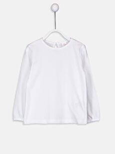Kız Bebek Pamuklu Basic Tişört