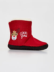 Red Home Boots