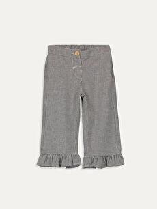 Kız Bebek Desenli Pantolon