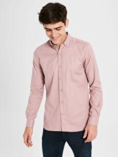 Ekstra Slim Fit Uzun Kollu Gömlek