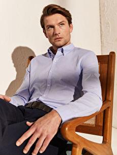 Slim Fit Basic Gömlek