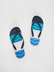 Син Плажни чехли