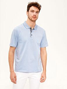 Polo Yaka Basic Merserize Tişört