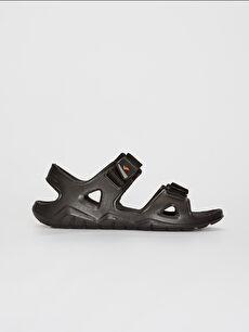 Erkek Çift Bantlı Cırt Cırtlı Sandalet