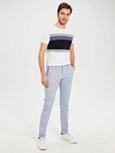 Slim Fit Bilek Boy Pantolon
