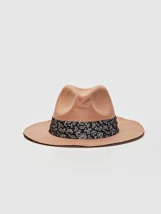 Kaşe Kadın Fötr Şapka