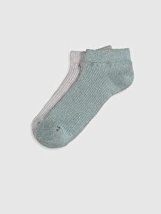 Yeşil Patik Çorap 2'li