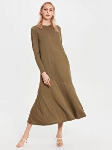 Düz Uzun Elbise