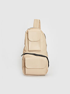 Beige Body Bag