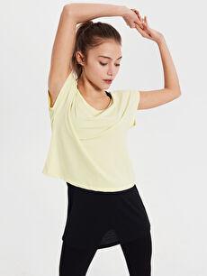 Aktif Spor Pamuklu Tişört